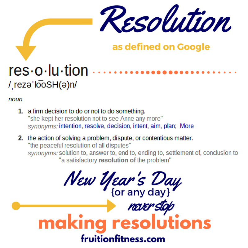 3 Steps to Successful New Year's Resolutions
