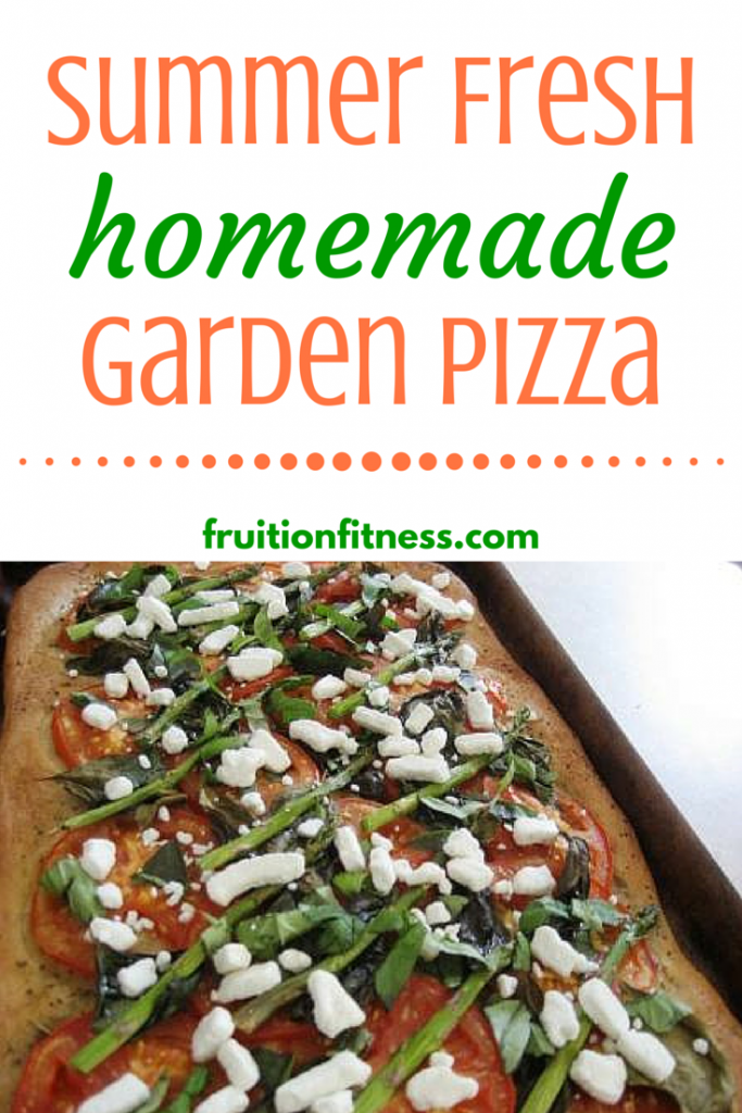 Summer Fresh Homemade Garden Pizza