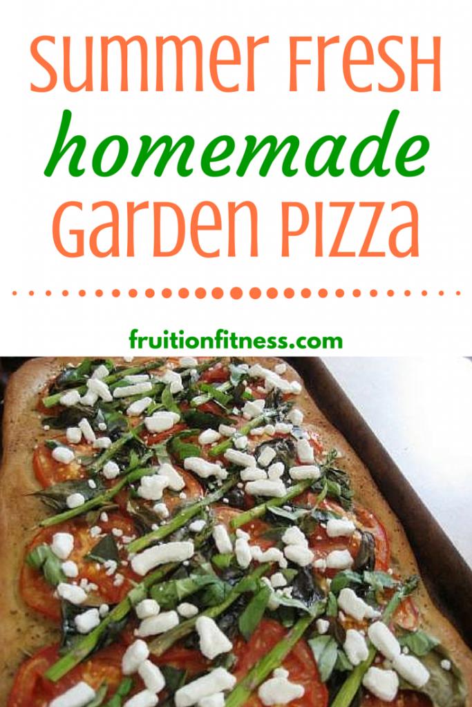 Summer Fresh Homemade Garden Pizza