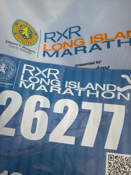 The Long Island Marathon 2012
