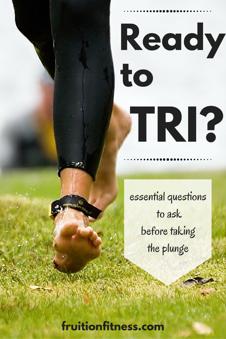 3 Essential Questions to Ask Before Trying a Triathlon