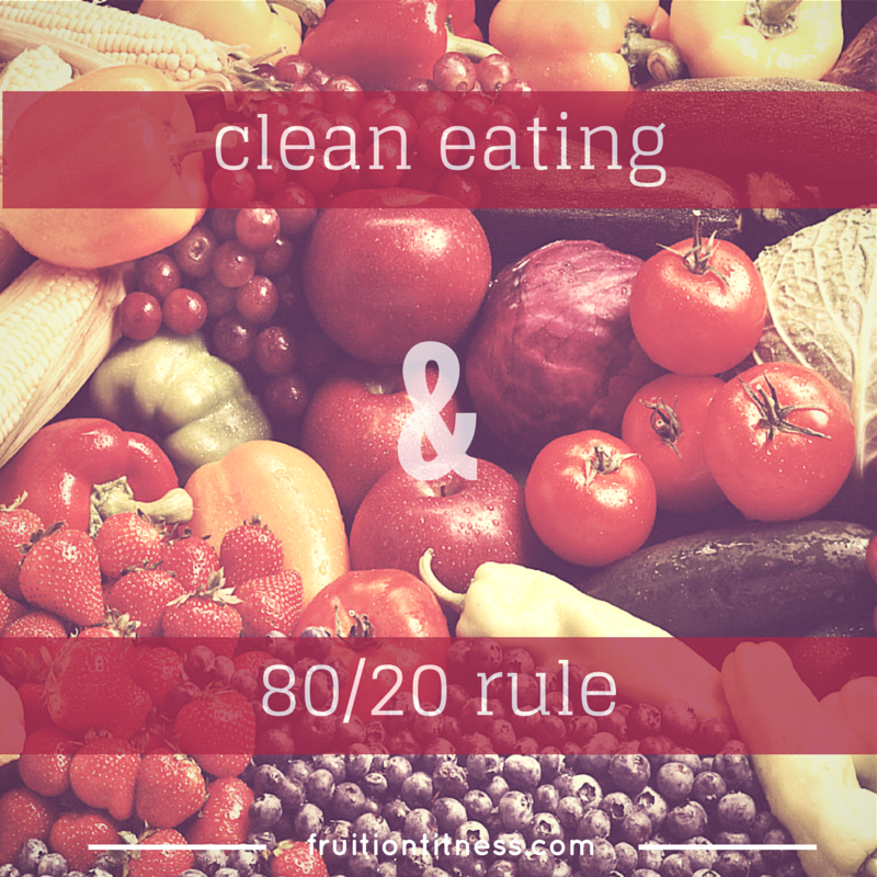 Clean Eating and the 80/20 Rule