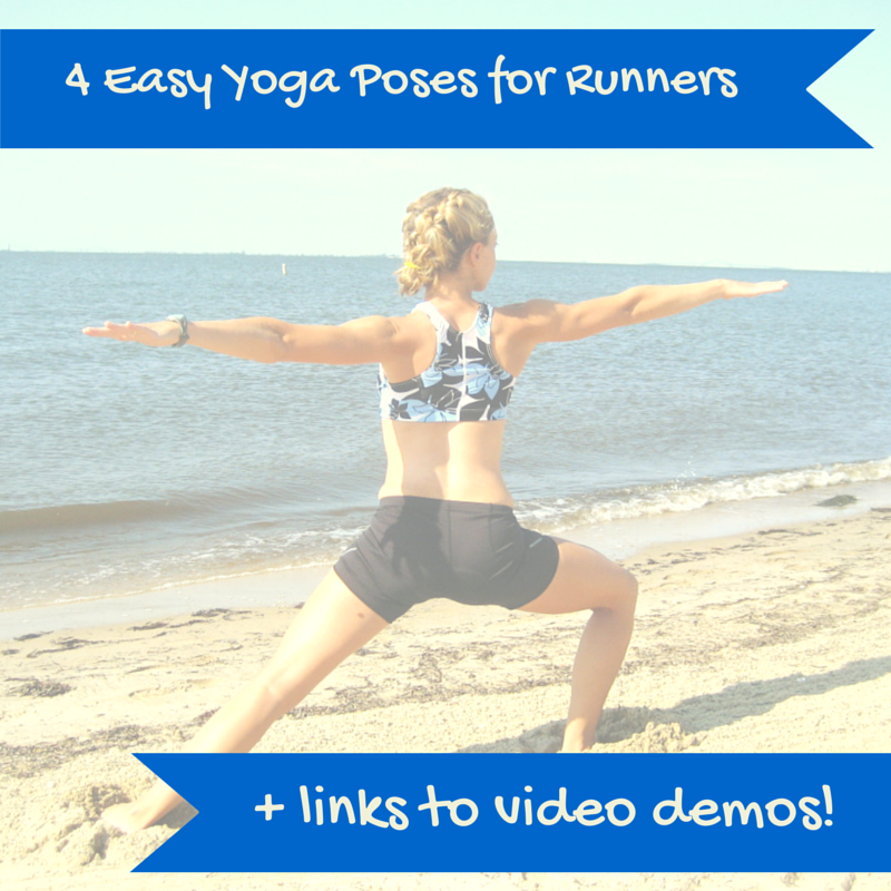 4 Easy Yoga Poses for Runners