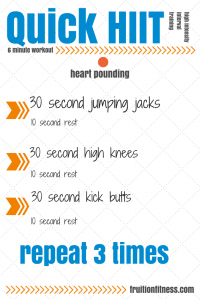 Easy HIIT Workout