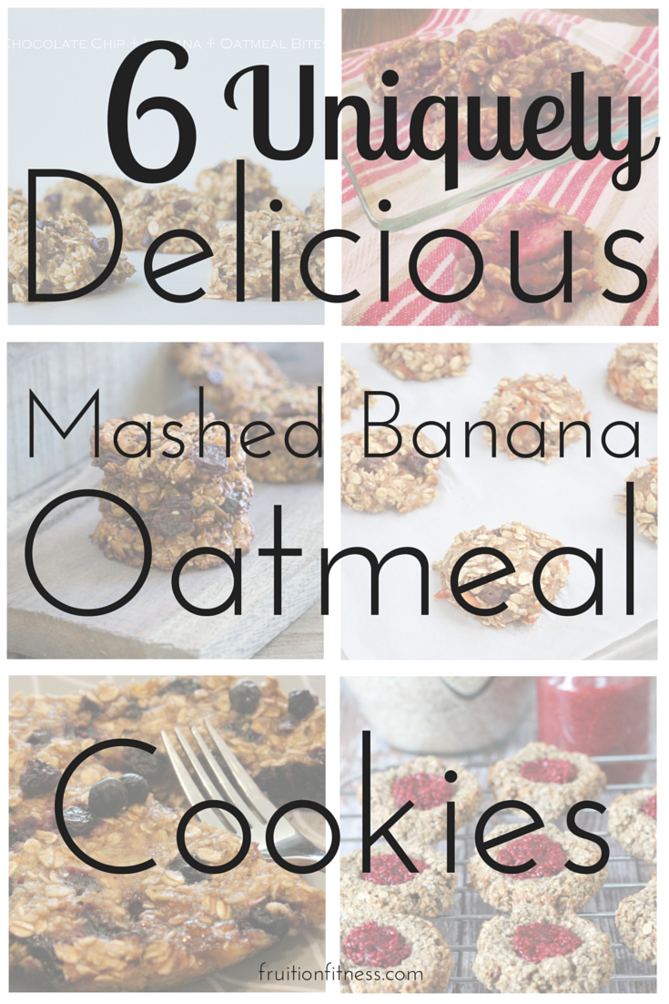 6 Uniquely Delicious Mashed Banana Oatmeal Cookies