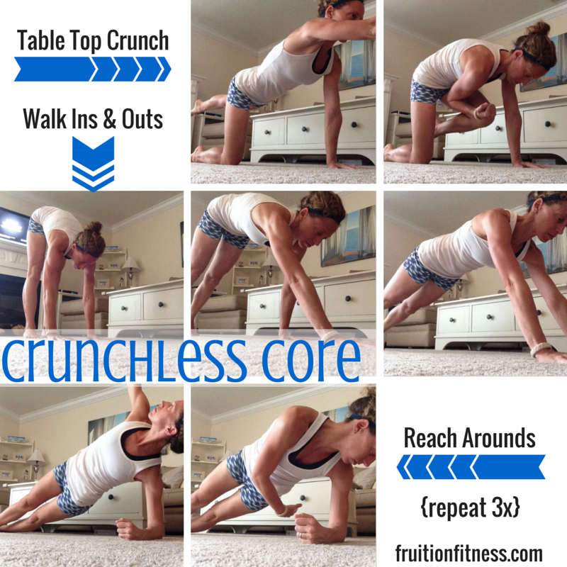 3 {More} Super Effective Crunchless Core Exercises