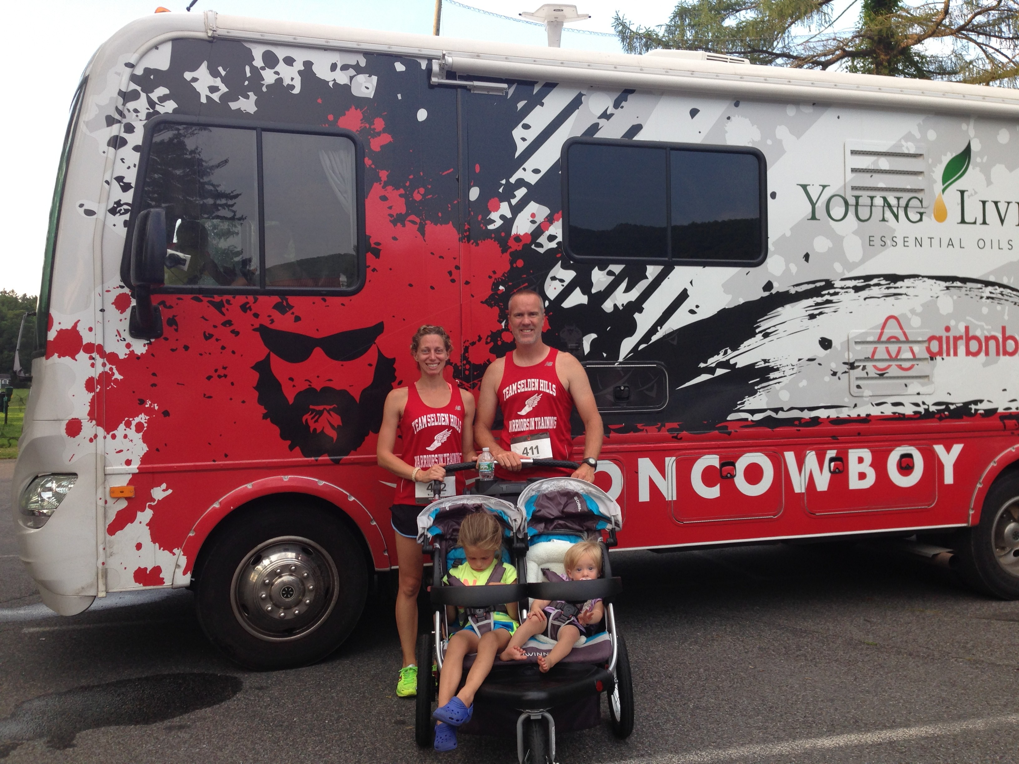 Weekend {No Race!} Recap + Iron Cowboy Meet Up