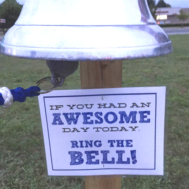 race awesome bell