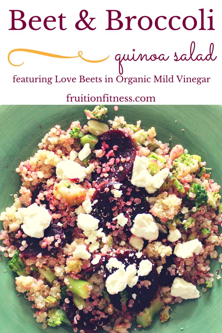 Beet and Broccoli Quinoa Salad