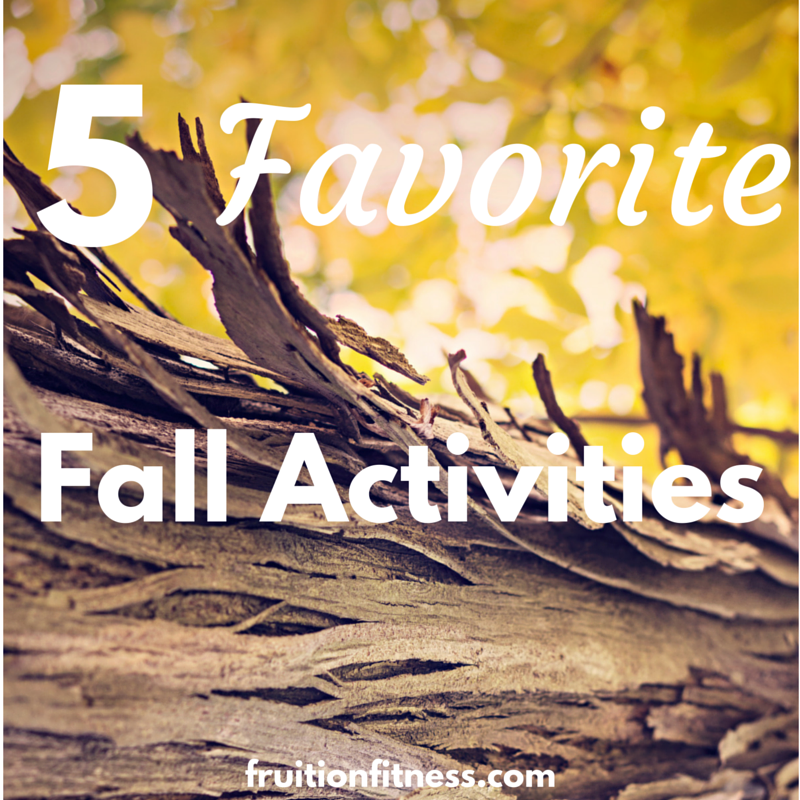 5 Favorite Fall Activities