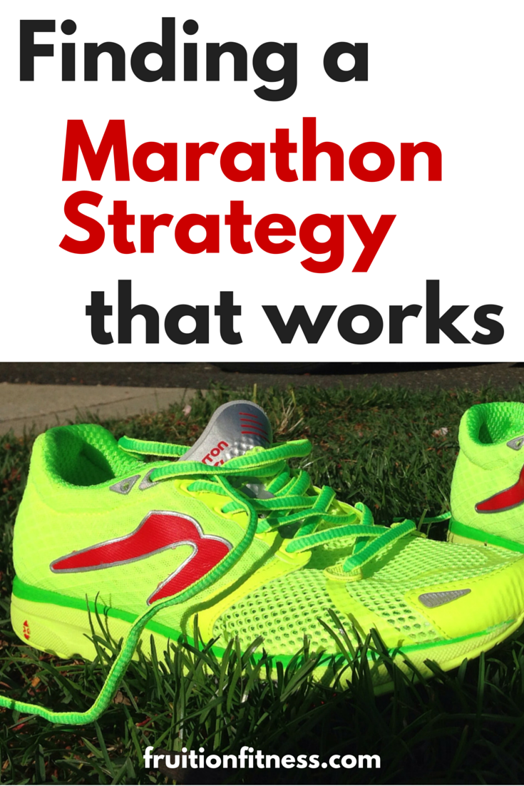 Finding a Marathon Strategy that Works