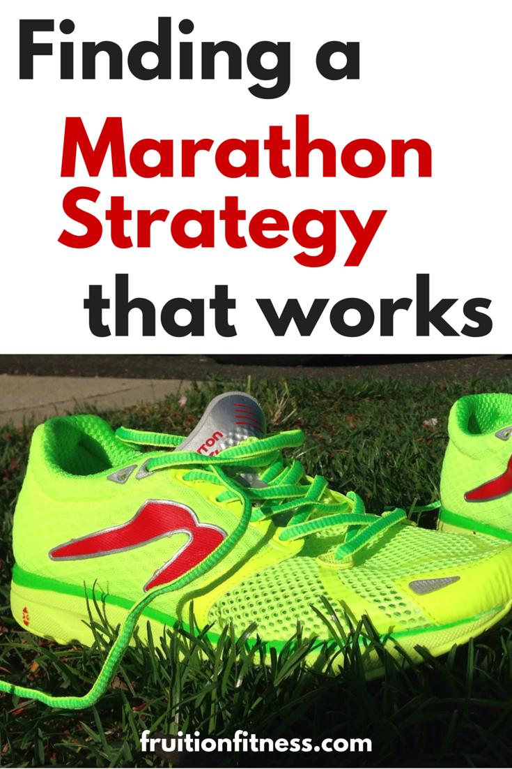 Marathon Strategy