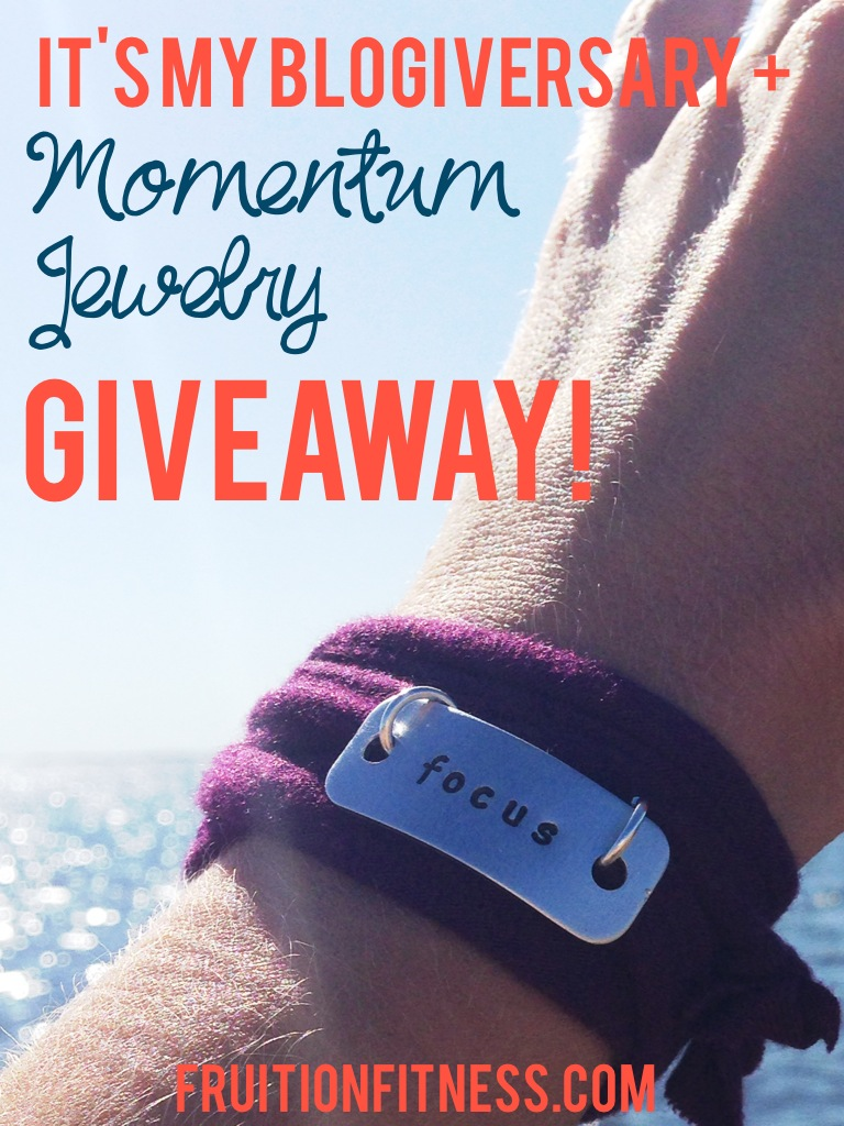 It's My Blogiversary + Momentum Jewelry Giveaway!