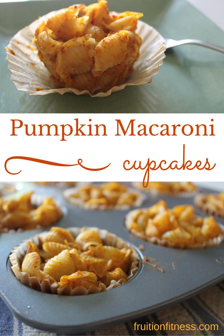 Baked Macaroni Pumpkin Cups