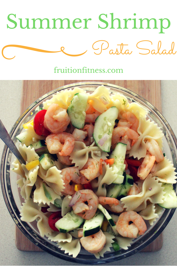Summer Shrimp Pasta Salad Image