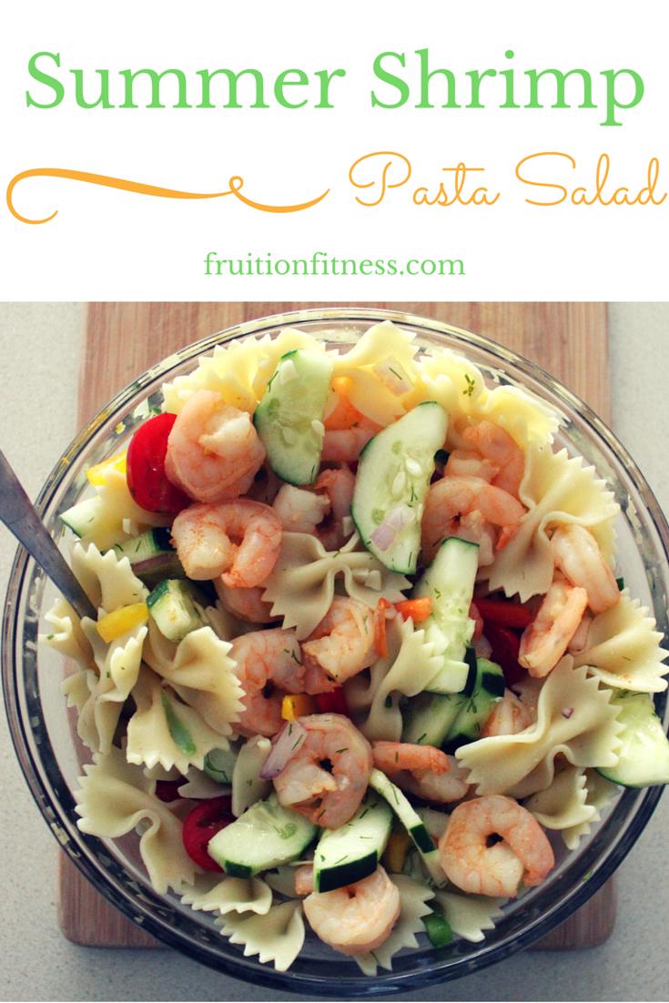 Summer Shrimp Pasta Salad Image