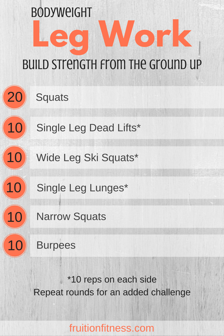 Building Strength From the Ground Up
