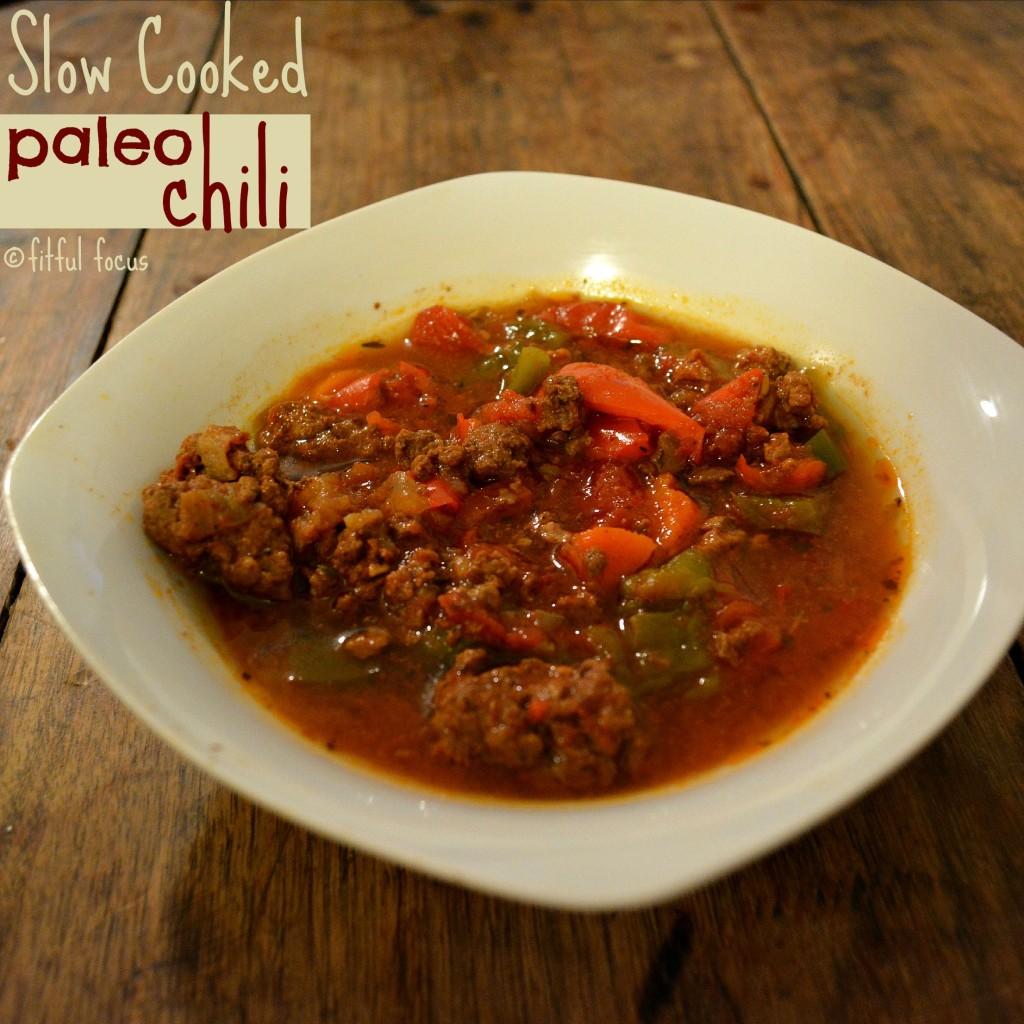 Slow Cooker Paleo Chili