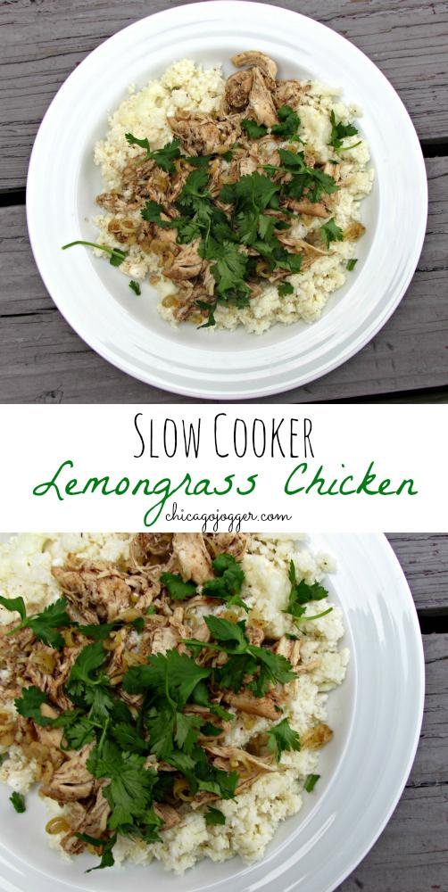 Slow Cooker Lemongrass Chicken