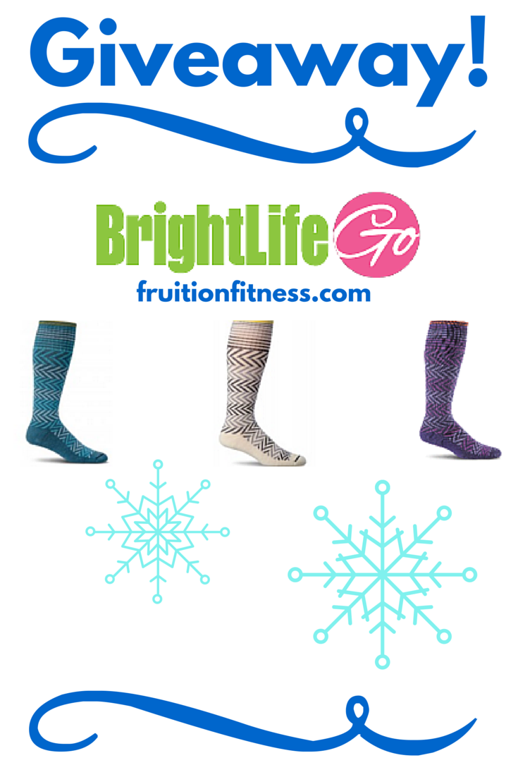 BrightLife Go Stylish Compression Sock Giveaway!