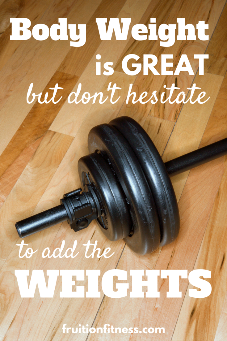 Don't Hesitate to Add the Weights!