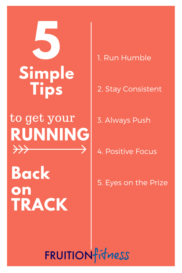 5 Simple Tips to Get Your Running Back On Track