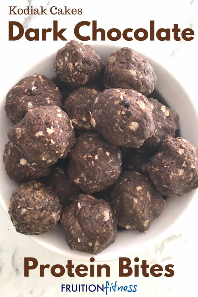 Dark Chocolate Protein Bites (1)