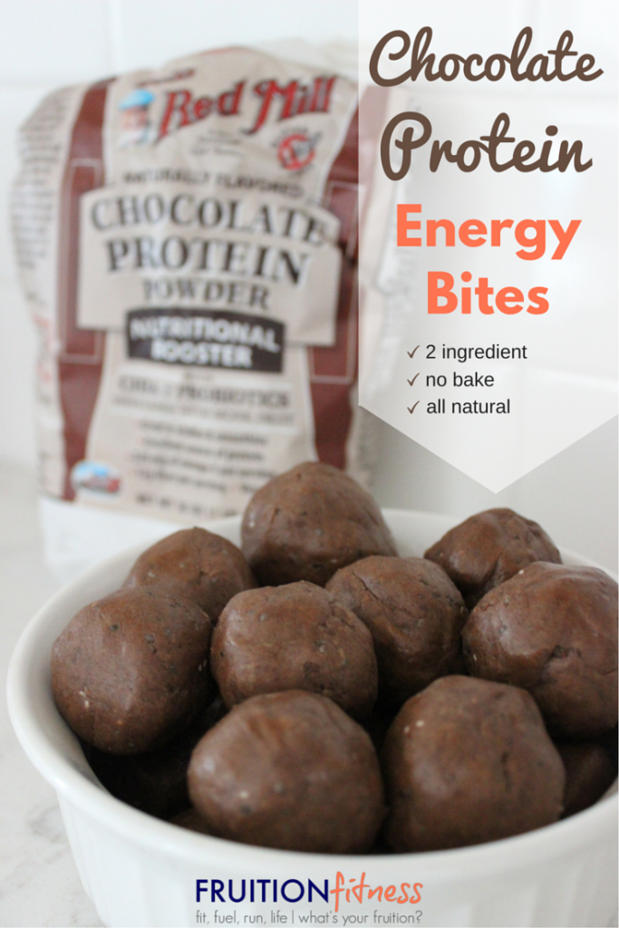 Bobs Red Mill Chocolate Protein Energy Bites