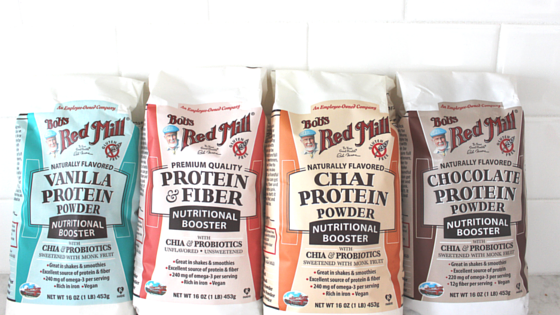 Bob's Red Mill Protein Powder Lineup