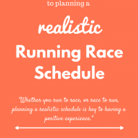 3 Keys to Planning a Realistic Running Race Schedule