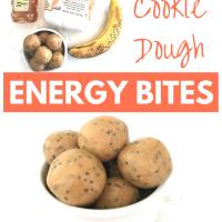 Chai Cookie Dough Energy Bites