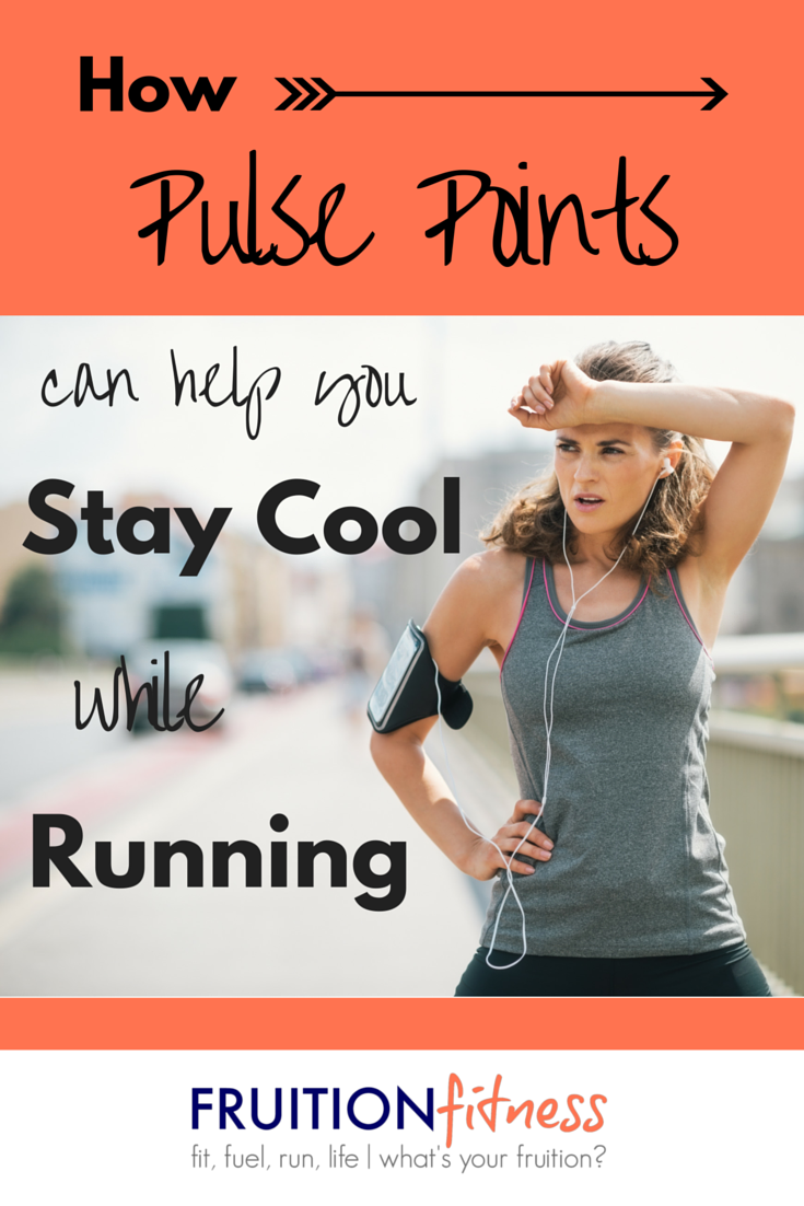 How Pulse Points Can Help You Stay Cool While Running