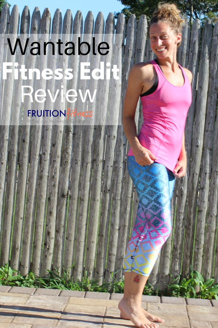 Updating My Activewear with Wantable + a Fitness Edit Review