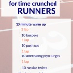 Strength and Speed Workout for Time Crunched Runners